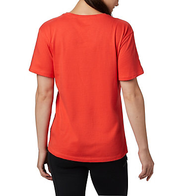 Women's Columbia Park™ Relaxed Tee Columbia Park™ Relaxed Tee | 010 | M, Bright Poppy, back
