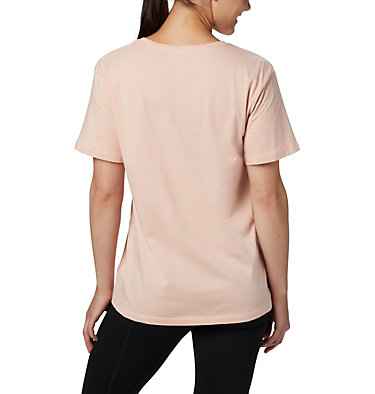 Women's Columbia Park™ Relaxed Tee Columbia Park™ Relaxed Tee | 010 | L, Peach Cloud, Birds N Branches, back