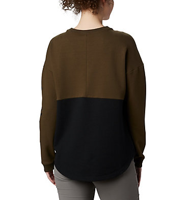 Women's Columbia Lodge™ II Crew Columbia Lodge™ II Crew | 870 | L, Black, Olive Green, back