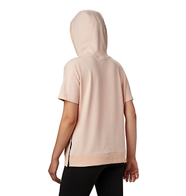 Women's Columbia Park™ Short Sleeve Hoodie Columbia Park™ SS Hoodie | 032 | L, Peach Cloud, Nocturnal, Birds N Branches, back