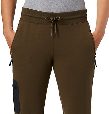 Women's Columbia Lodge™ II Joggers Columbia Lodge™ II W Jogger | 010 | L, Olive Green, Black, a1
