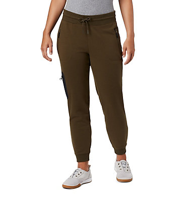 Women's Columbia Lodge™ II Joggers Columbia Lodge™ II W Jogger | 010 | L, Olive Green, Black, front