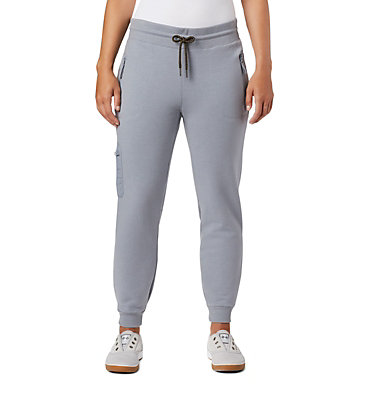 Women's Lodge II Jogger Columbia Lodge™ II W Jogger | 010 | XS, Tradewinds Grey Heather, front