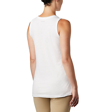 Women's Bluff Mesa™ Tank Bluff Mesa™ Tank | 466 | L, White Heather, Wavy Way, back