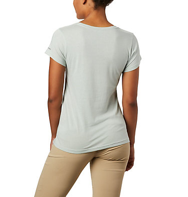 Women's Hidden Lake™ Crew Tee Hidden Lake™ Crew Tee | 100 | L, Cool Green Heather, S'Mores, back