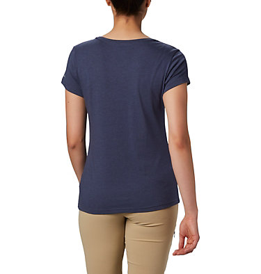 Women's Hidden Lake™ Crew Tee Hidden Lake™ Crew Tee | 335 | L, Nocturnal Heather, S'mores, back