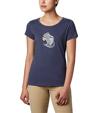 Women's Hidden Lake™ Crew Tee Hidden Lake™ Crew Tee | 335 | L, Nocturnal Heather, S'mores, front