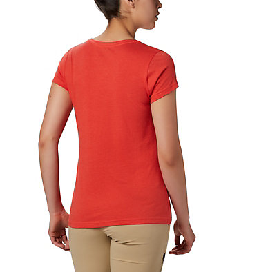 Women's Hidden Lake™ Crew Tee Hidden Lake™ Crew Tee | 335 | L, Bright Poppy Heather, S'mores, back