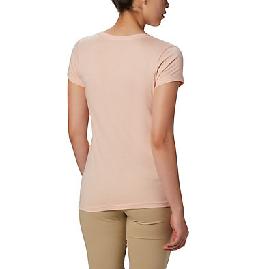 Women's Hidden Lake™ Crew Tee Hidden Lake™ Crew Tee | 100 | L, Peach Cloud Heather, S'mores, back