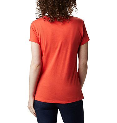T-shirt Hidden Lake™ Femme Hidden Lake™ Crew Tee | 847 | L, Bright Poppy Heather, Be Free, back