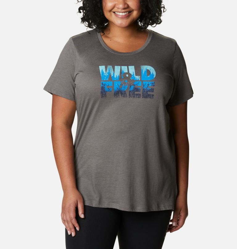 Women's Hidden Lake™ Crew T-Shirt – Plus Size Women's Hidden Lake™ Crew T-Shirt – Plus Size, front