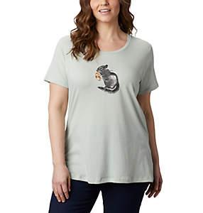 T-shirt à col rond Hidden Lake™ pour femme – Grandes tailles