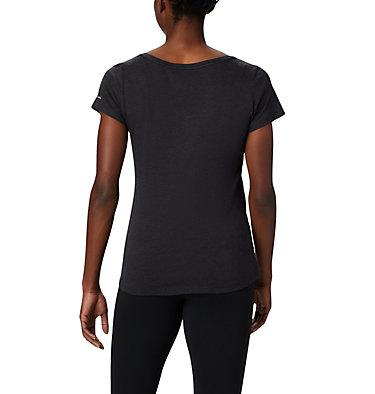 T-shirt col V Hidden Lake™ pour femme Hidden Lake™ V Neck Tee | 335 | L, Black Heather, Linear Trailscape, back
