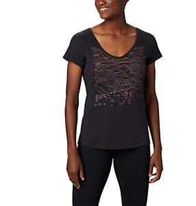 T-shirt col V Hidden Lake™ pour femme