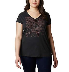 T-shirt col V Hidden Lake™ pour femme – Grandes tailles