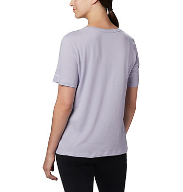 Women's Mount Rose™ Relaxed T-Shirt Mount Rose™ Relaxed Tee | 847 | L, Twilight Heather, CSC Badge, back