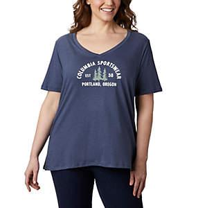 T-shirt décontracté Mount Rose™ pour femme – Grandes tailles