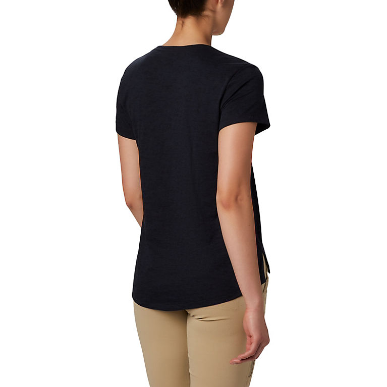 COLUMBIA Women/'s Scoop-neck Valley Loop Short Sleeve Graphic  T-Shirt Tee M//L//XL