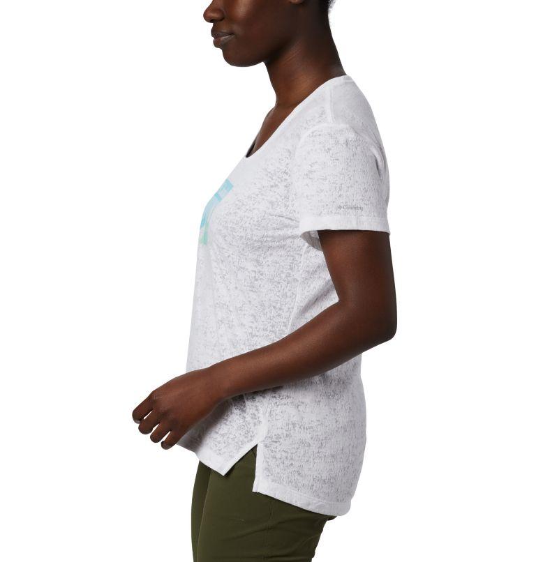 Rose Summit™ SS Tee | 101 | L Women's Rose Summit™ Short Sleeve T-Shirt, White, Peak Fun, a1