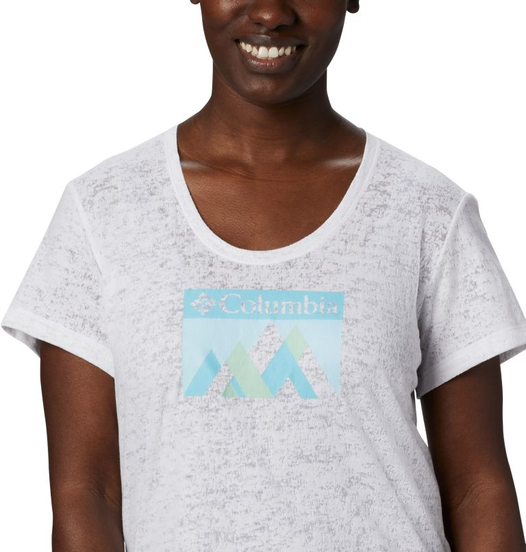 Rose Summit™ SS Tee | 101 | L Women's Rose Summit™ Short Sleeve T-Shirt, White, Peak Fun, a2