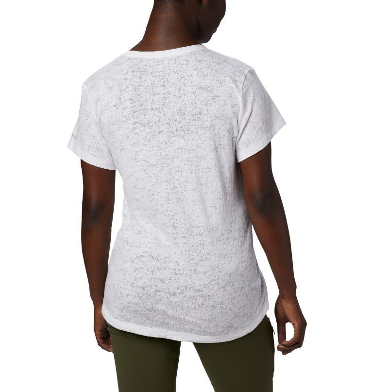 Rose Summit™ SS Tee | 101 | L Women's Rose Summit™ Short Sleeve T-Shirt, White, Peak Fun, back