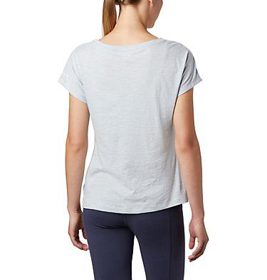Women's High Dune™ T-Shirt High Dune™ SS Tee | 100 | L, Cirrus Grey, Leafscape, back