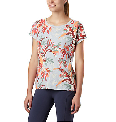 T-shirt High Dune™ Femme High Dune™ SS Tee | 100 | L, Cirrus Grey, Leafscape, front