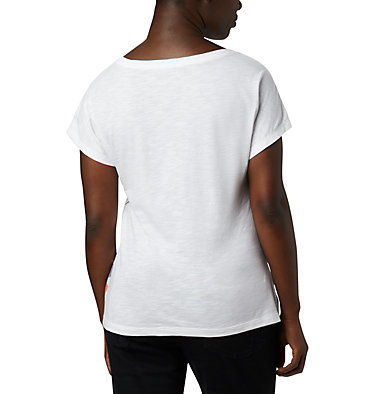 Women's High Dune™ T-Shirt High Dune™ SS Tee | 100 | L, White, Leafscape, back
