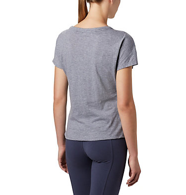 Women's High Dune™ T-Shirt High Dune™ SS Tee | 100 | L, Nocturnal, Leafscape, back