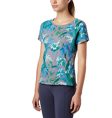 T-shirt High Dune™ Femme High Dune™ SS Tee | 100 | L, Nocturnal, Leafscape, front