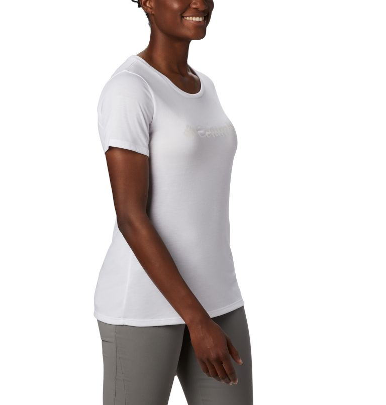 Lava Lake™ II SS Tee | 100 | M Women's Lava Lake™ II T-Shirt, White, CSC Branded, a3