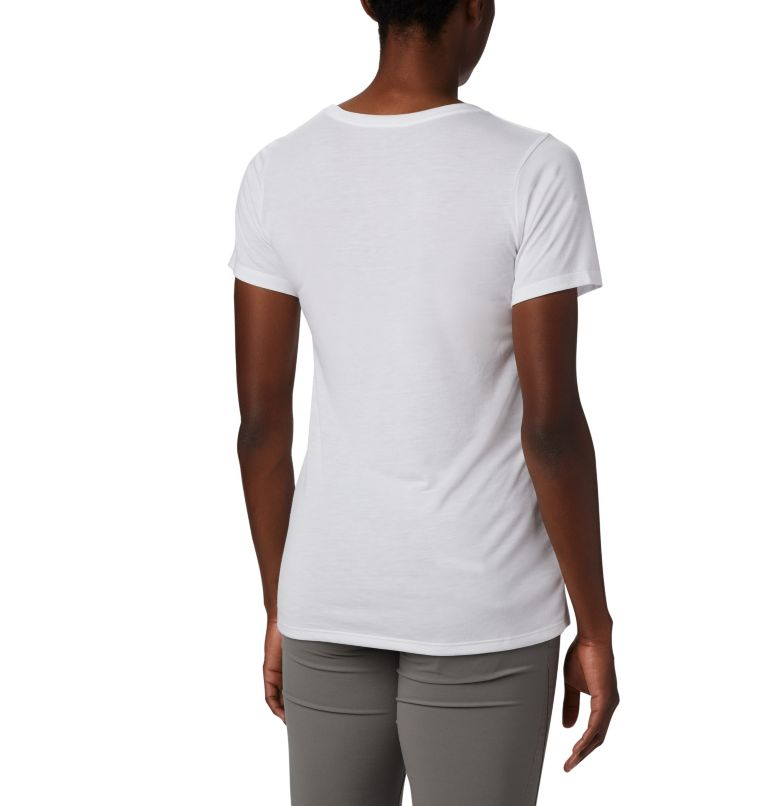 Lava Lake™ II SS Tee | 100 | M Women's Lava Lake™ II T-Shirt, White, CSC Branded, back
