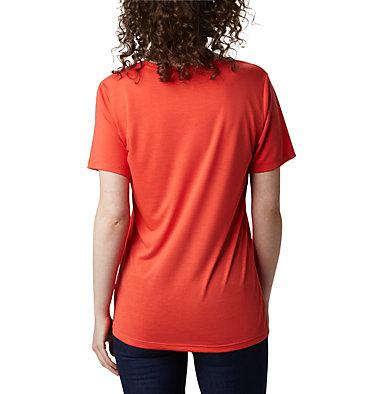 Women's Lava Lake™ II T-Shirt Lava Lake™ II SS Tee | 100 | L, Bright Poppy, CSC Branded, back