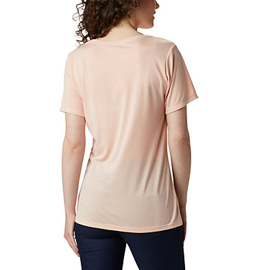Women's Lava Lake™ II T-Shirt Lava Lake™ II SS Tee | 100 | L, Peach Cloud, CSC Branded, back