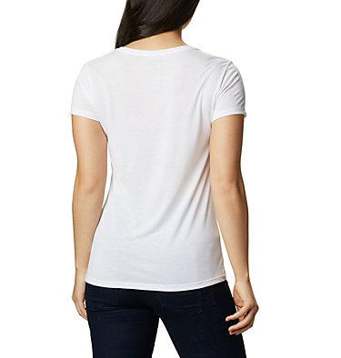 Women's Lave Lake™ II T-Shirt Lava Lake™ II SS Tee | 306 | L, White, CSC Power Brand, back