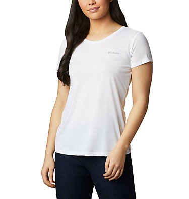 Women's Lave Lake™ II T-Shirt Lava Lake™ II SS Tee | 306 | L, White, CSC Power Brand, front