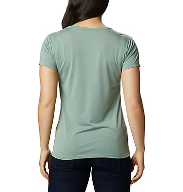 Women's Lave Lake™ II T-Shirt Lava Lake™ II SS Tee | 306 | L, Light Lichen, CSC Power Brand, back