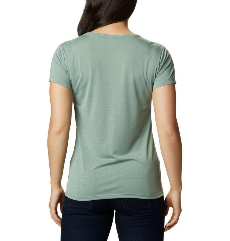 Lava Lake™ II SS Tee | 306 | L Women's Lave Lake™ II T-Shirt, Light Lichen, CSC Power Brand, back