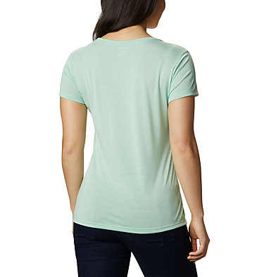 Women's Lave Lake™ II T-Shirt Lava Lake™ II SS Tee | 306 | L, New Mint, CSC Power Brand, back