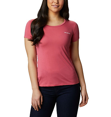 Women's Lave Lake™ II T-Shirt Lava Lake™ II SS Tee | 306 | L, Rouge Pink, CSC Power Brand, front