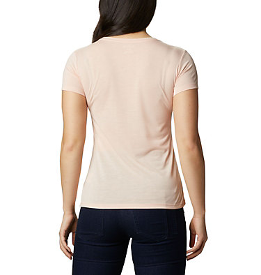 Women's Lave Lake™ II T-Shirt Lava Lake™ II SS Tee | 306 | L, Peach Cloud, CSC Power Brand, back