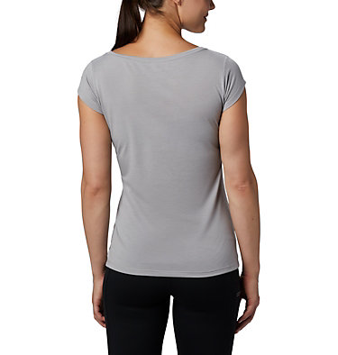 Women's Shady Grove™ T-Shirt Shady Grove™ SS Tee | 871 | L, Columbia Grey, Peak Performance, back