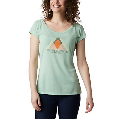 Women's Shady Grove™ T-Shirt Shady Grove™ SS Tee | 467 | S, New Mint, Peak Performance, front