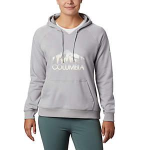 Women's Columbia™ Logo French Terry Hoodie