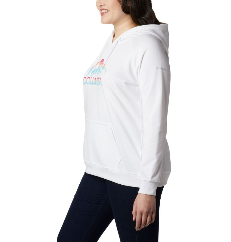 Women's Columbia™ Logo French Terry Hoodie – Plus Size Women's Columbia™ Logo French Terry Hoodie – Plus Size, a1