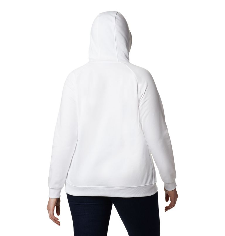 Women's Columbia™ Logo French Terry Hoodie – Plus Size Women's Columbia™ Logo French Terry Hoodie – Plus Size, back