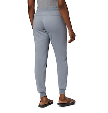 Women's Columbia™ Logo French Terry Joggers Columbia™ Logo French Terry Jogger | 032 | XL, Tradewinds Grey Heather, back