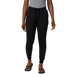 Women's Columbia™ Logo French Terry Joggers - Plus Size