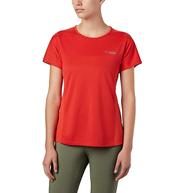 Women's Irico™ Knit Short Sleeve Shirt W Irico™ Knit SS | 466 | L, Bold Orange, front