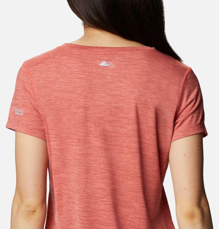 W Trinity Trail™ II Graphic | 639 | XS T-shirt imprimé à manches courtes Trinity Trail™ II pour femme, Dark Coral, a3